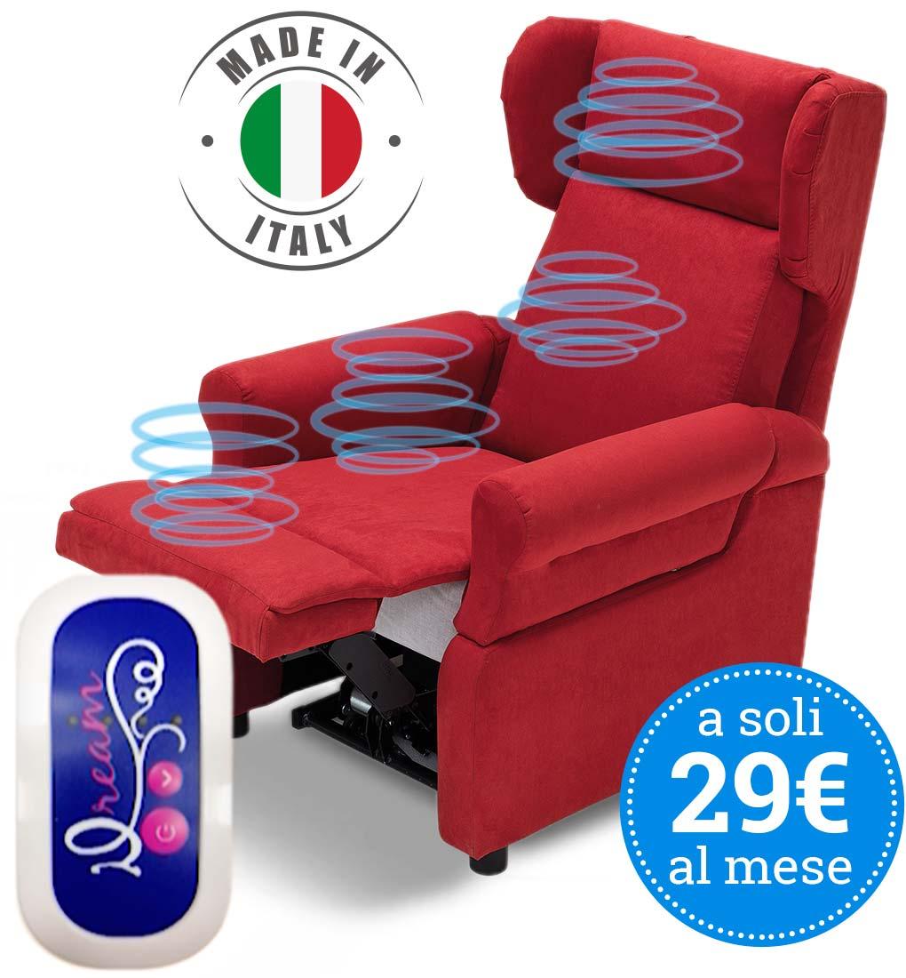 Promozione poltrone vendita poltrone elettriche e divani for Divano zucchetti